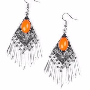 Free with Bundle Monte-Zumba Earrings Orange